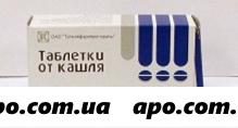 Таблетки от кашля n20