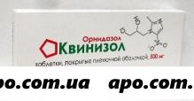 Квинизол 0,5 n10 табл п/плен/оболоч