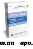 Бронхоген (пептиды для бронхо-легочной системы) 0,2 n60 капс