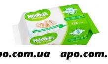 Хаггис салфетки ultra comf+aloe n128