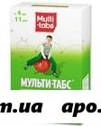 Мульти-табс юниор малина/клубника n30 жев табл