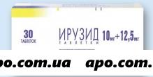 Ирузид 0,01+0,0125 n30 табл