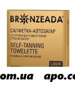 Либридерм бронзиада салфетка-автозагар n4