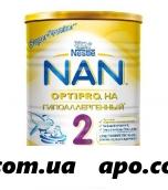 Нан/nan/ 2 optipro гипоаллергенный смесь сухая д/детей с 6 мес 400,0