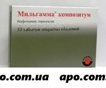 Мильгамма композитум n30 табл п/о