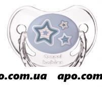 Канпол бэби соска-пустыш силик круг 0-6м newborn baby голубая