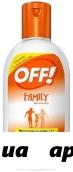 Офф family крем от комаров 150мл