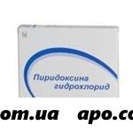Пиридоксина г/х 0,01 n50 табл