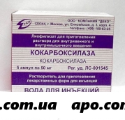 Кокарбоксилаза 0,05 n5 амп лиоф д/р-ра /деко
