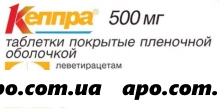 Кеппра 0,5 n30 табл п/плен/оболоч