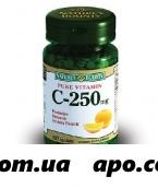Нэйчес баунти чистый витамин с 0,25 n100 табл
