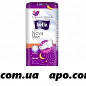 Белла nova maxi прокладки впит air softiplait n10