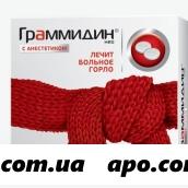 Граммидин нео с анестетиком n18 табл д/рассас
