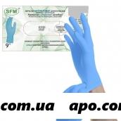 Перчатки смотровые нитриловые н/ст,m n50пар