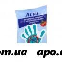 Aурa салфетки влаж антибакт n15