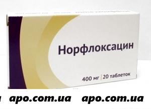 Норфлоксацин простатит