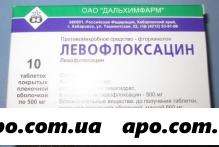 Левофлоксацин 0,5 n10 табл п/плен/оболоч