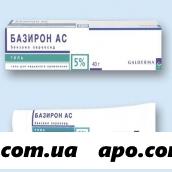 Базирон ас 5% 40,0 гель