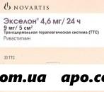 Экселон 0,0046/24часа n30 трансдерм терапевт с-ма