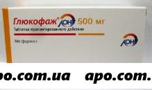 Глюкофаж лонг 0,5 n60 табл пролонг
