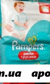Памперс подгузники-трусики pants д/мальч и дев maxi n52