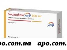 Глюкофаж лонг 0,5 n30 табл пролонг