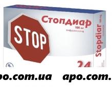 Стопдиар 0,1 n24 табл п/о