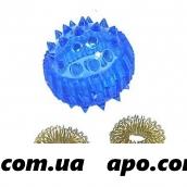 Массажер шарик с двумя кольцами инд/уп