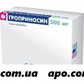 Гроприносин 0,5 n30 табл