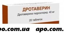 Дротаверин 0,04 n20 табл/органика