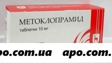 Метоклопрамид 0,01 n50 табл /мэз/