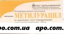 Метилурацил 0,5 n10 супп рект /дальхимфарм