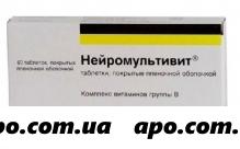 Нейромультивит n60 табл п/плен/оболоч