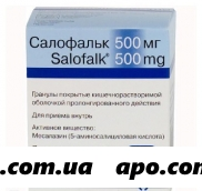 Салофальк 0,5 n50 гран п/кишеч раств/оболоч пролонг