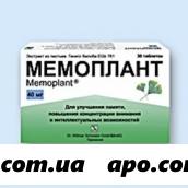 Мемоплант 0,04 n60 табл п/о