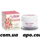 My rose of bulgaria крем д/лица дневной п/морщин anti-wrinkle day cream 50мл