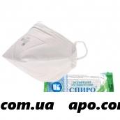 Маска медицинская n1 (респиратор спиро-102)
