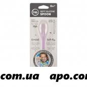 Happy baby ложка силиконовая д/кормления