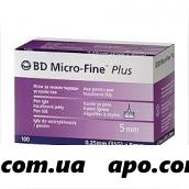 Игла micro-fine plus к инсулин инжектору 31g n100
