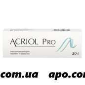 Акриол Про 2,5%+2,5% 30 крем