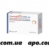 Глюкофаж 1,0 n30 табл п/плен/оболоч