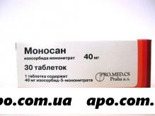Моносан 0,04 n30 табл