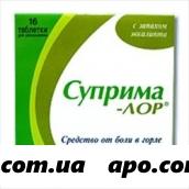 Суприма-лор эвкалипт n16 табл д/рассас