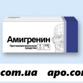 Амигренин 0,05 n2 табл п/о