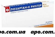 Лозартан-н рихтер 0,05/0,0125 n30 табл п/плен/оболоч