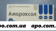 Амброксол 0,03 n20 табл /татхимфарм