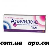Аримидекс 0,001 n28 табл п/о