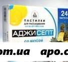 Аджисепт ананас n24 табл д/рассас