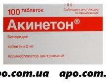 Акинетон 0,002 n100 табл